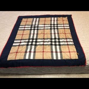 100% Authentic Burberry Silk Scarf (never worn)